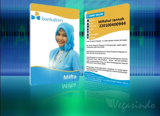id card Bank Kaltim