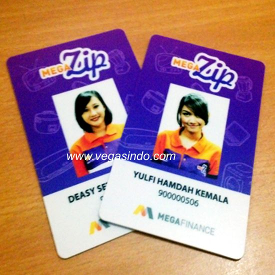 id card Mega Finance
