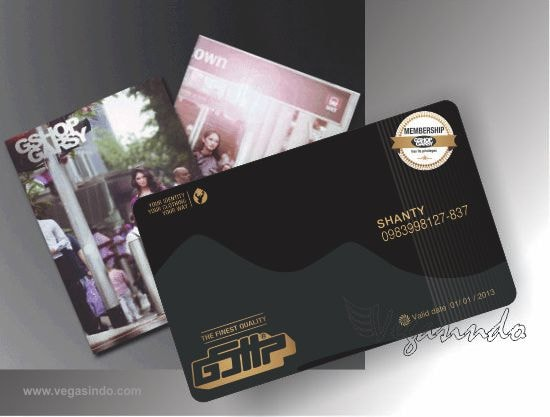sample member card