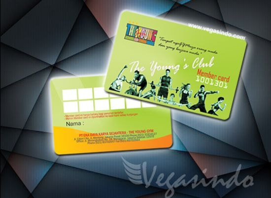 member card the young gym