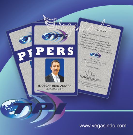 contoh id card karyawan tpi