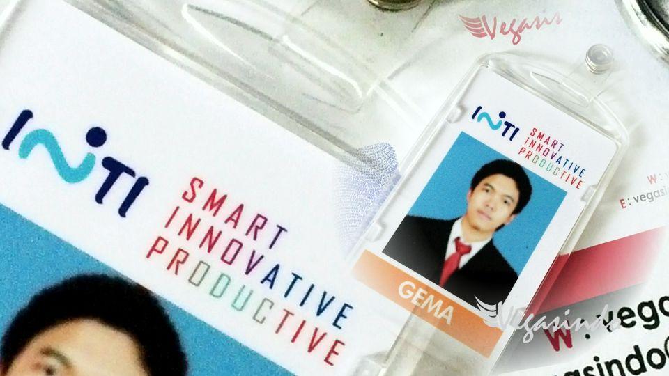 contoh id card perusahaan
