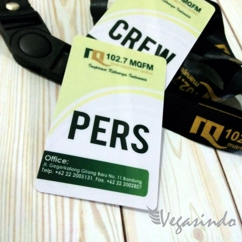 contoh id card pers
