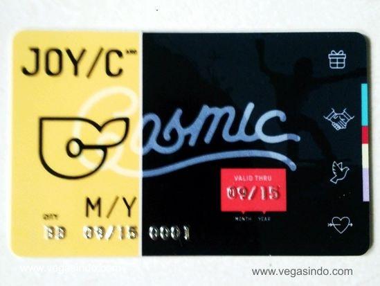 member card cosmic