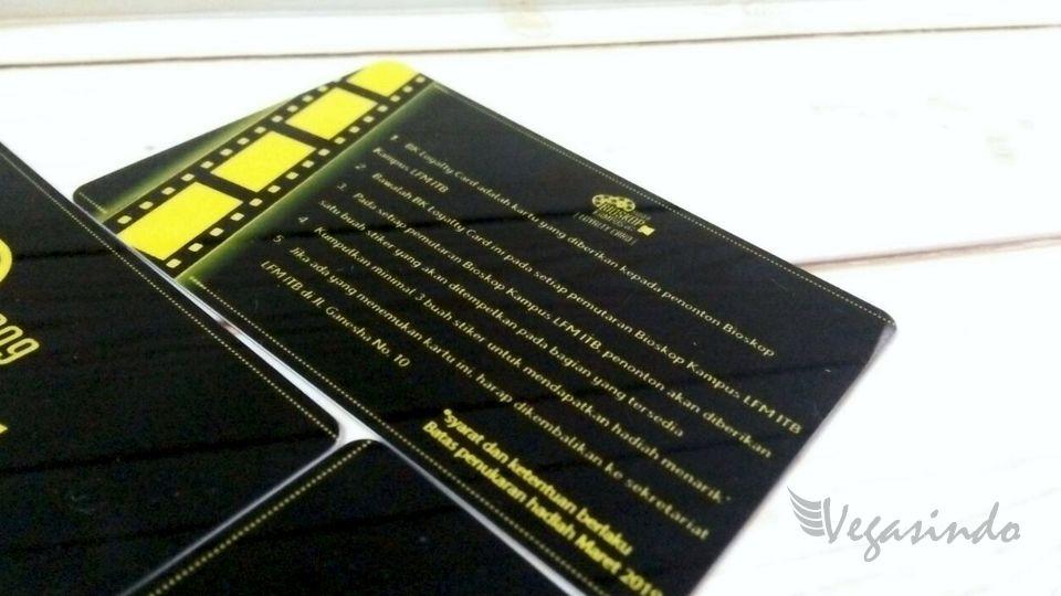 contoh kartu member card