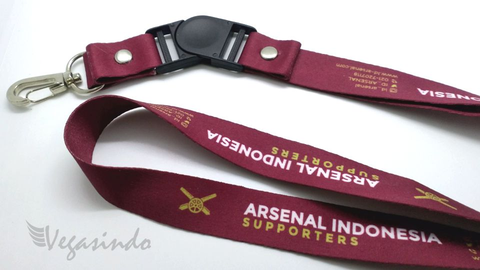 contoh tali id card Arsenal Indonesia Supporters