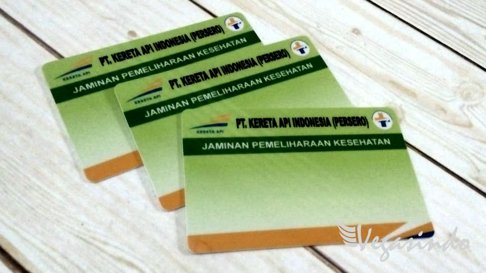 contoh id card dan yoyo id card pt kereta api indonesia