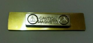 magnet name tag
